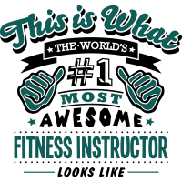 fitness instructor world no1 most awesom