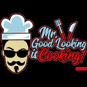 Mr Good Looking Is Cooking 4 HARIZ Grillen Bier Ge