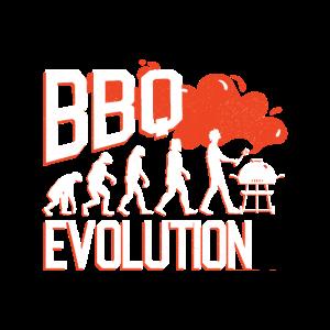 Lustiges BBQ / Grillen Evolution Geschenk
