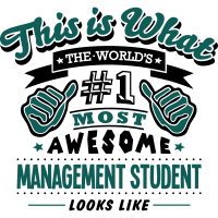 management student world no1 most awesom