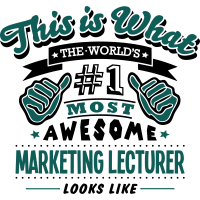 marketing lecturer world no1 most awesom