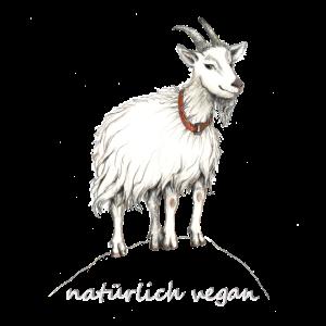 """Ziege """"natuerlich vegan"""""""