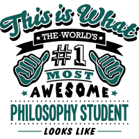 philosophy student world no1 most awesom
