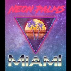 Neon Palm Miami Top