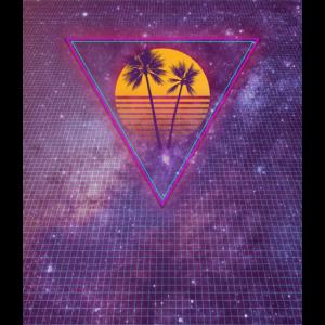 Sun Palms and Grid