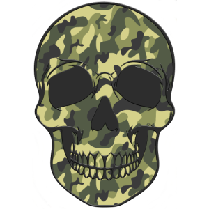 Camo-Skull