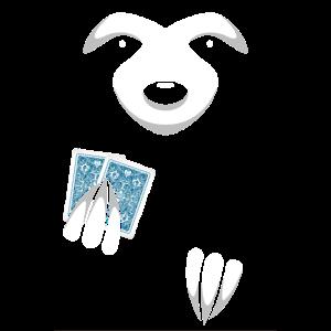 Poker T-Shirt Slowplay Faultier
