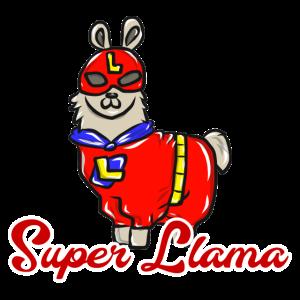 Superheld Lama