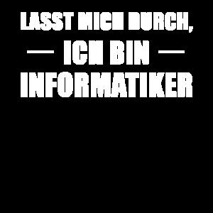 Informatiker Informatik Spruch Geschenk