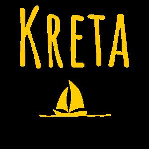 Schönes Kreta T-Shirt
