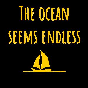 Endloser Ozean Horizont
