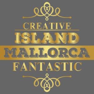 Mallorca - goldenes Luxus Design für Mallorca Fans