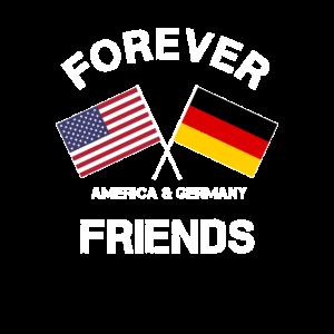 USA Deutschland Freunde Freundschaft Amis Amerika