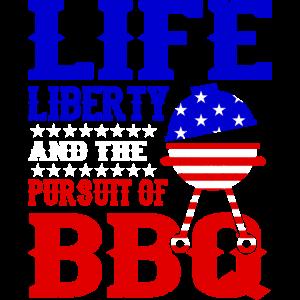 Independence Day USA Leben Freiheit Und BBQ