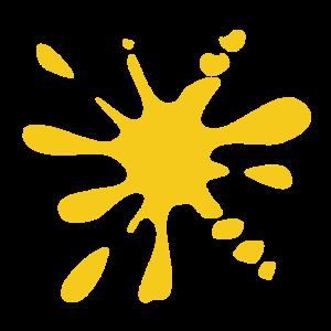 Klecks gelb