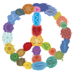 Peace Sign in Colors