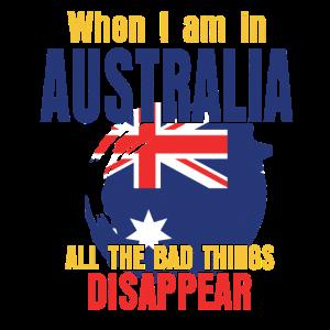 Australien DANN Down Under Geschenk