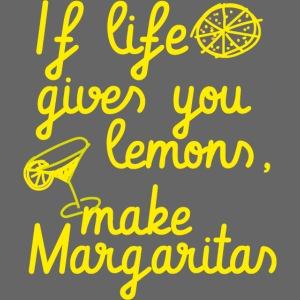When life gives you lemons, make margaritas