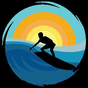 Surfer Surfen - Design