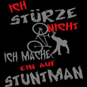Fahrradfahren Stuntman