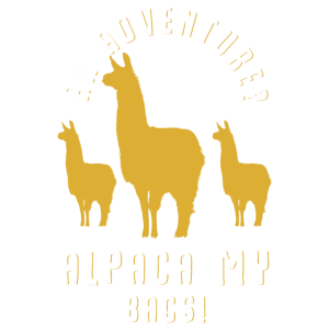 An Adventure Alpaca my bags - ein Abenteuer Alpaca