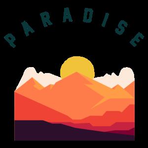 Paradies Sonnenaufgang / Sonnenuntergang