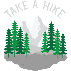Take A Hike, Hiking, Mountains, Nature, Forest