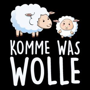 Komme was Wolle lustiges Geschenk
