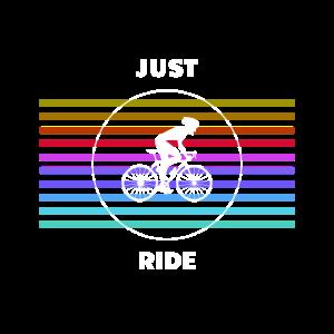 Rennradfahrer Radtour 'JUST RIDE'