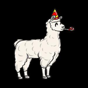 Lama Geburtstagsparty
