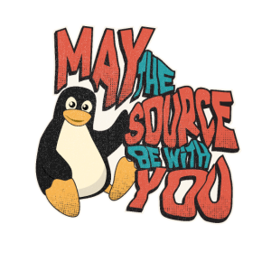 May the source be with you tux Admin lustig