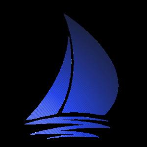 Wellen Segelboot Geschenk
