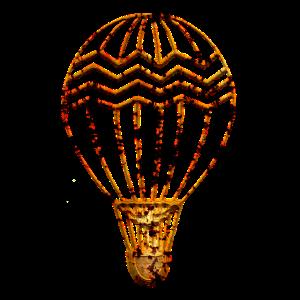 Steampunk Steam Retro Heißluftballon Geschenk