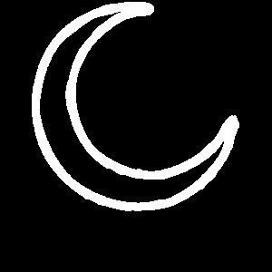 Mond, Sichelmond, Halbmond, Mond Zeichen, Mond Sym