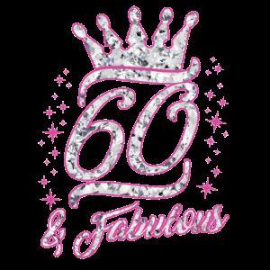 60. Geburtstag & fabulous Shirt