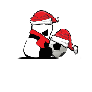 Bestes Top Panda Soccer Weihnachtsdesign