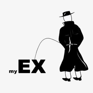 Pissing Man against my ex