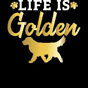 Liebe Golden Retriever Geschenkprodukt für Hundebesitzer