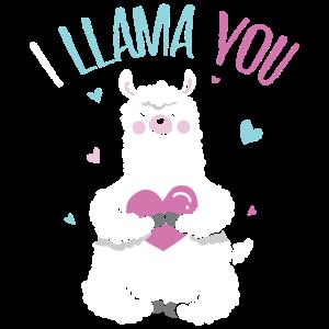 Geschenk ich Lama Sie lustiger Valentinstag Liebhaber