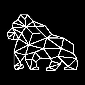Gorilla Vektor Design