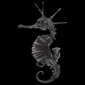 Steampunk Seepferdchen