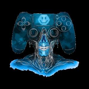 Gamer Video Game Controller Monster