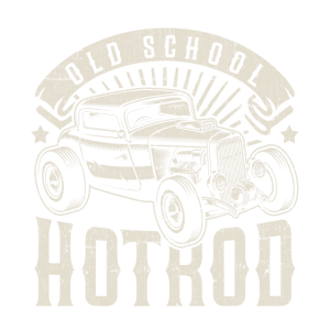 Hotrod vintage Oldtimer Geschenk Old School Car