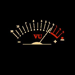 VU Bassnadel im Roten Bereich für HIFI Liebhaber