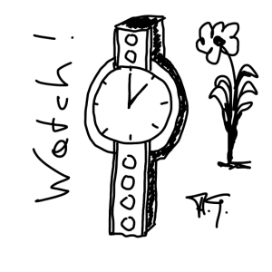 The scribble Watch