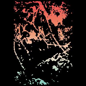 Farben und abstrakte Kunst
