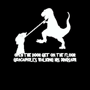 Den Dinosaurier laufen lassen