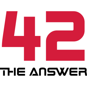 42, the Answer Antwort Galaxis Science Fiction UFO