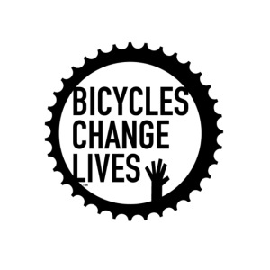 Bicycles Change Lives Cog Button