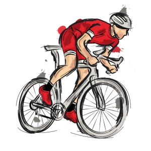 Rennrad Rennradfahrer Fahrradfahren Bike Geschenk